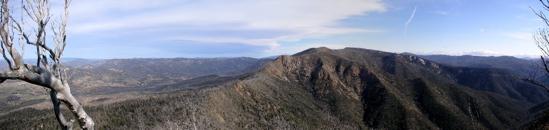 Camelback Ridge in Tidbinbilla