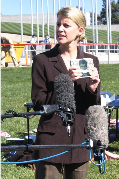 Democrats senator Natasha Stott Despoja