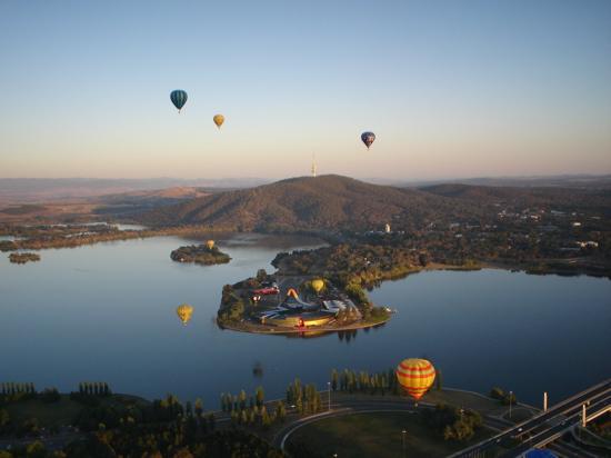 Lake from aloft