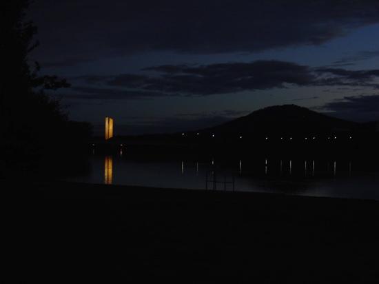 The Carillion at night