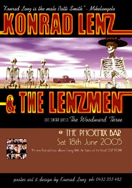 Lenzmen poster for 18-JUN-05