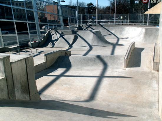 Inside Civic Skate Park