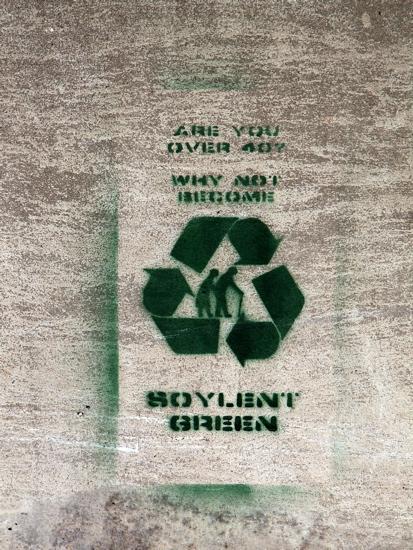 Soylent Green Graffiti