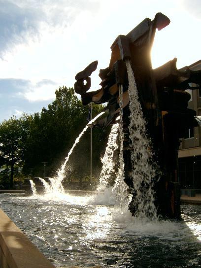 The Treasury Fountain
