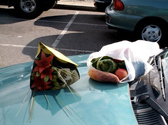 Che\'s flowers and vegies