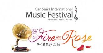 Canberra International Music Festival 9-18 May
