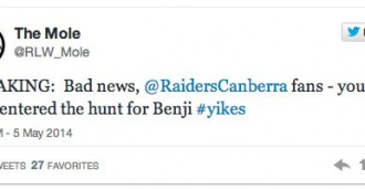 Benji Marshall to the Raiders?
