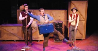 8220 Mr McGee and the Biting Flea  8221    8211  Patch Theatre  Review