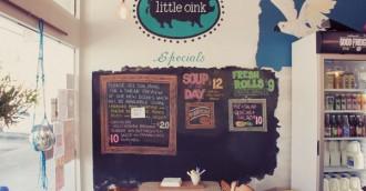 Weekend Cafe Hot Spot: Little Oink, Cook Shops