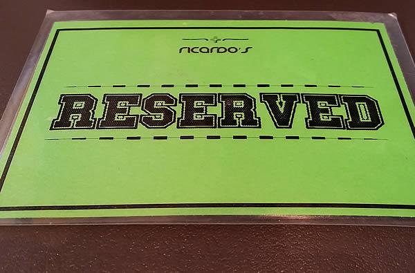 ricardos-reserved