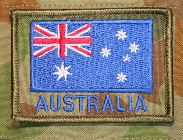 Australian flag patch