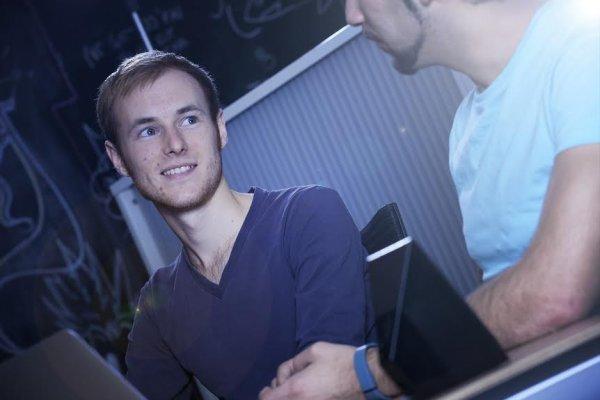 Andrew Clapham and Zakaria Bouguettaya Imagine Team