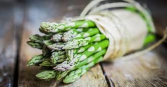 Ape about asparagus