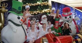 Santa arrives at Westfield this weekend!