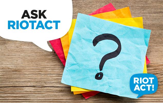 Ask RiotACT