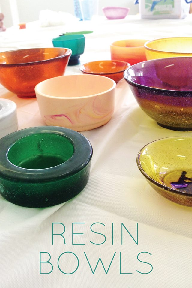 resin bowl workshop makers' hub