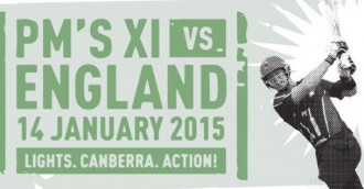 Prime Minister's XI versus England, 14 January