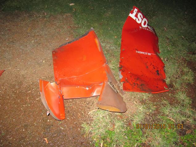 Post box damage 2