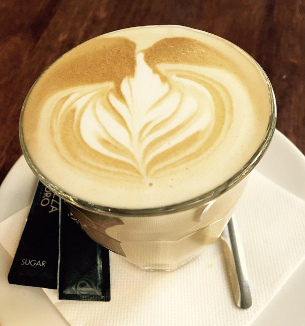 Waldorf latte
