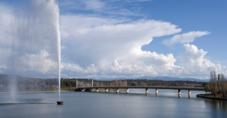 Watersports on Lake Burley Griffin