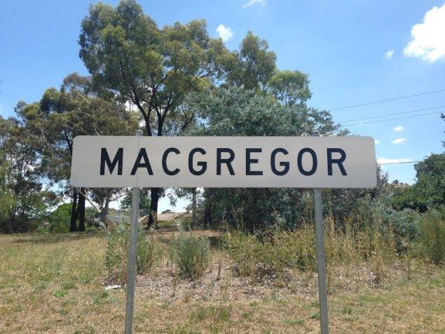 macgregor canberra