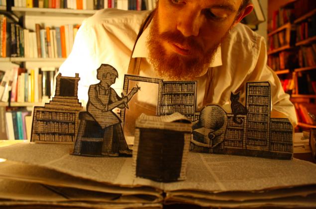 bookbinder scene
