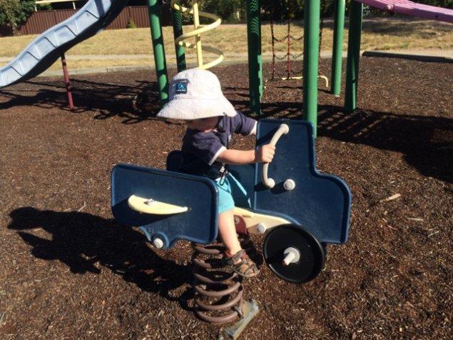 conder community wetland playground