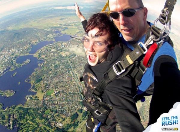 skydiving canberra