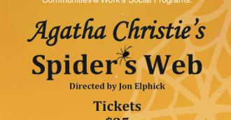 Tempo Theatre Spider Web fundraiser