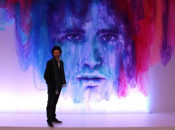 British artist Benjamin Shine