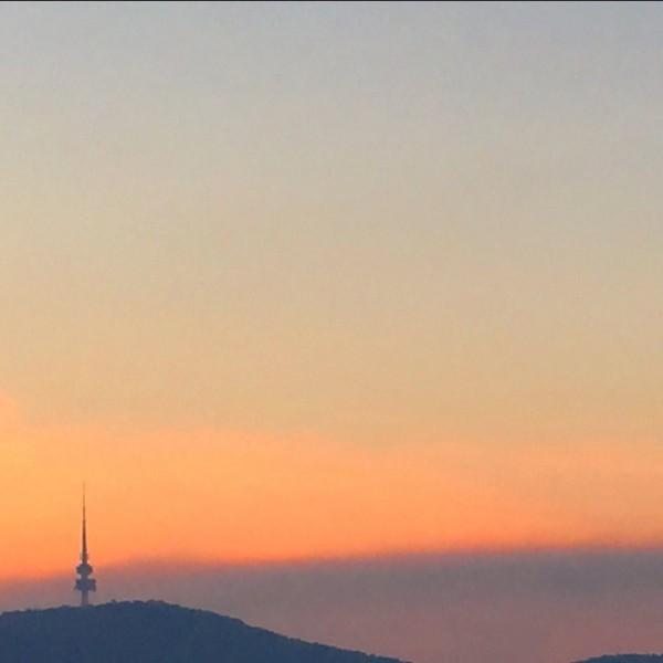 Canberra_Sunset