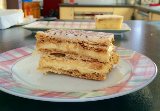la sable vanilla slice