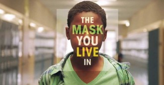 Community film event -The Mask You Live In