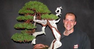 Arboretum hosts Italian bonsai expert