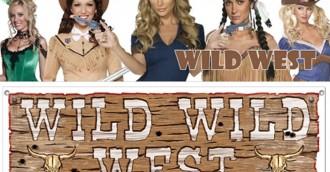 Wild wild west theme party