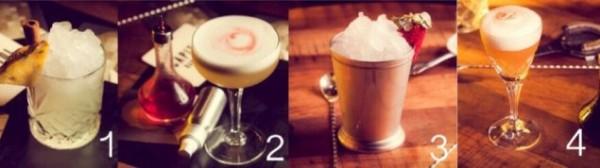 Lucky's Speakeasy cocktails