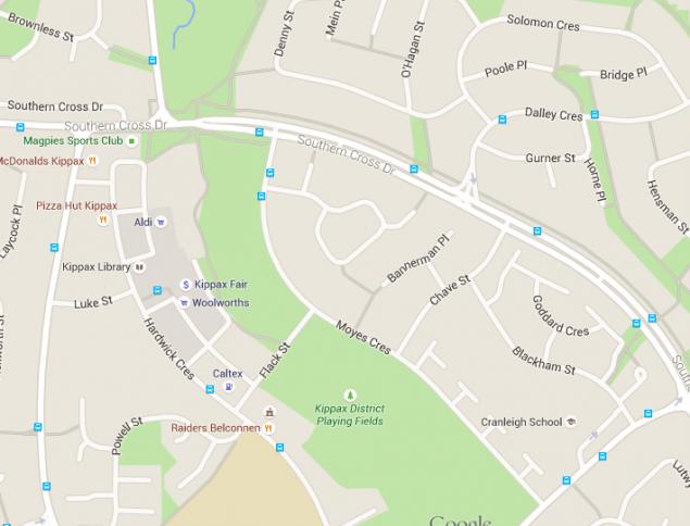 kippax map