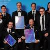 Telstra business award winners red robot