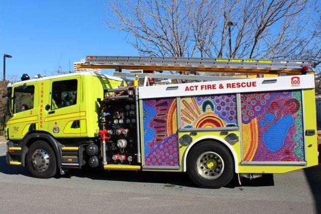 ACT fire truck