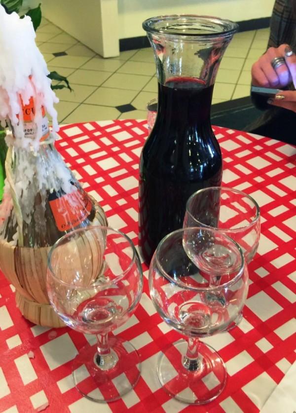 tosolini's pop up wine