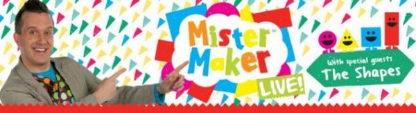 mister maker weekend