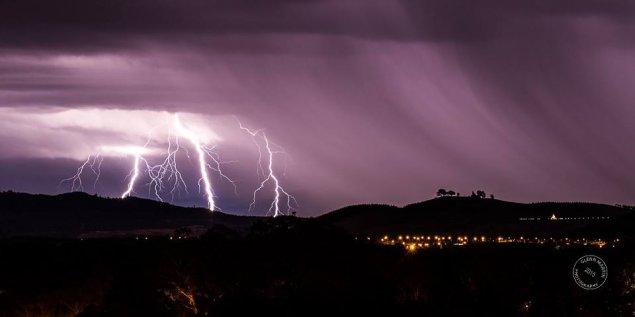 storm at arboretum canberra