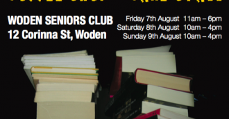 Woden Seniors' second BIG book fair