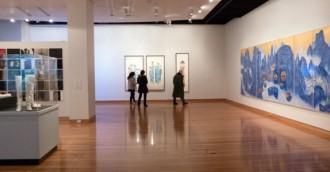 Review   8211  East Asian arts at CMAG