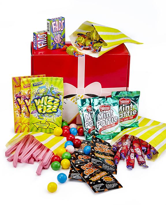 the candy shop retro lolly hamper small