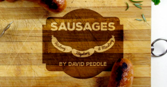 Sausages  History  Mystery  Mastery  book launch