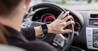 Should we ban smart watches while driving?