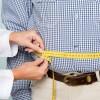 fat man measuring tape