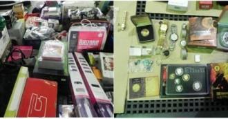 Stolen goods worth $300,000 seized in Phillip