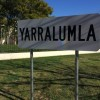 Yarralumla suburb sign